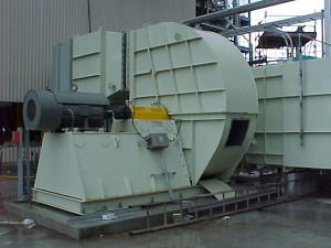 Industrial Fan, Centrifugal Fan, Corrosive Environment, Coupling Drive