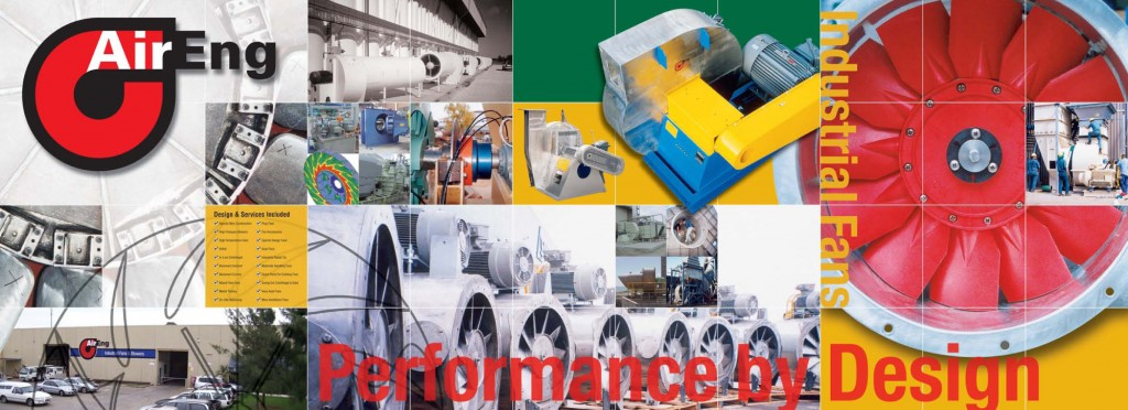 Industrial, Centrifugal and Axial Fan Collage