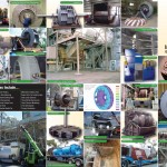 Large Centrifugal and Axial Fan Collage, Mixed Flow