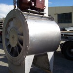 Stainless Steel, Adjustable Pitch, Fixed Pitch, High Temperature, Arrangement 2, Axial Flow Fan
