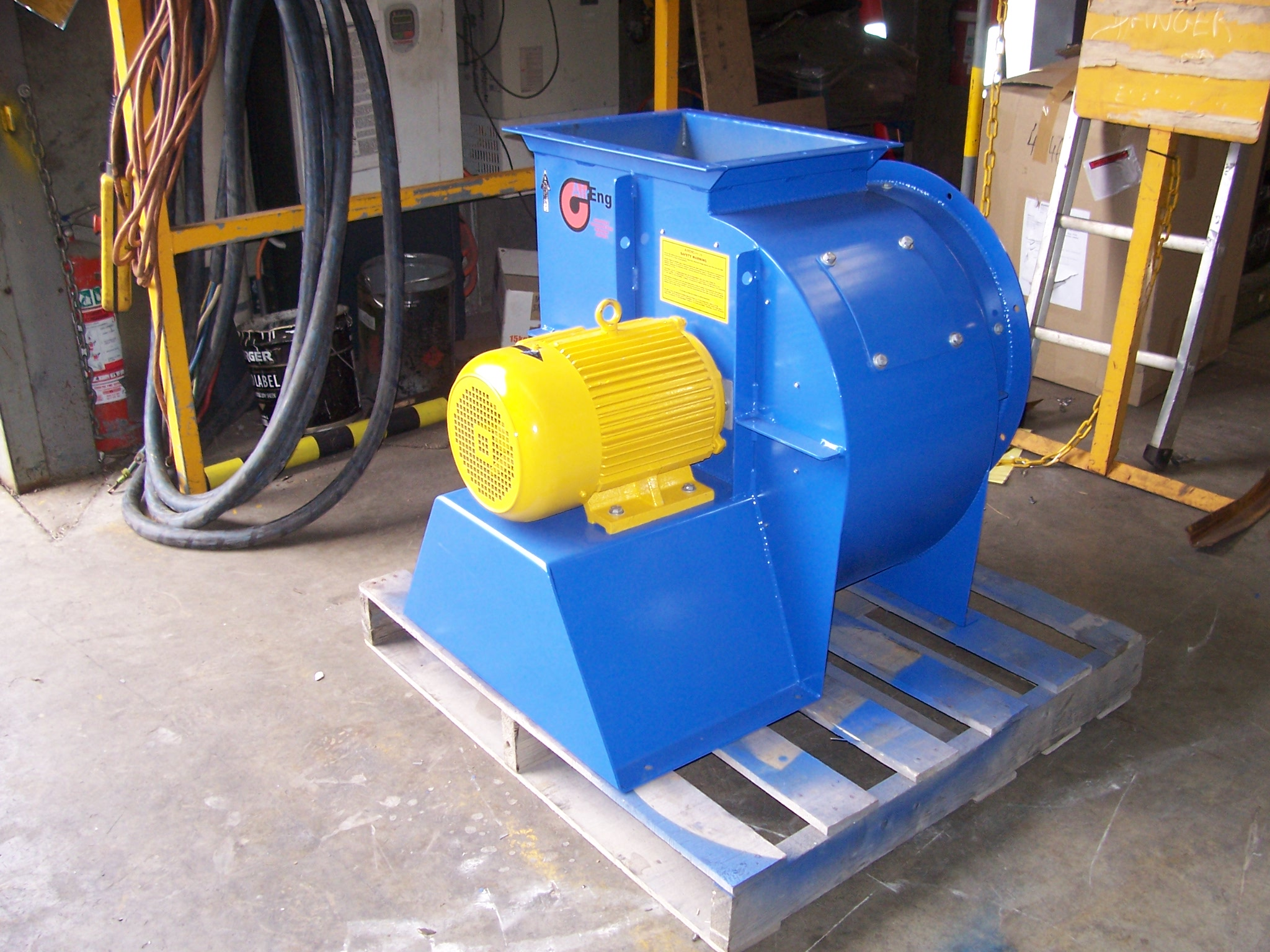 Industrial Fan – Hazardous Area Centrifugal Fan