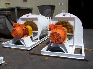 Drag Line Cooler, Arrangement 3, DIDW, Supply Air Fan, Cooling Fan, Glass Manufacture