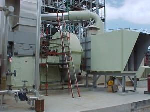 Prill Tower, Atomisation, AN, Ammonium Nitrate, Fertilizer Fan, Fertiliser Fan, Cooling Fan, Hazardous Area, Silencer, Inlet Box